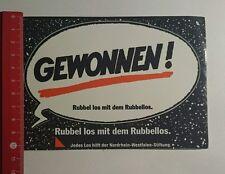 Aufkleber/Sticker: Rubel los mit dem Rubbellos (28071624)