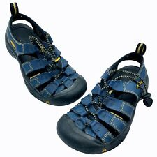 Keen Sandals Boys Size 1 Navy  Water Shoes Camp Beach Summer Closed Toe
