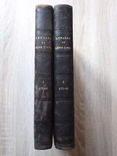 ANNALES DU GENIE CIVIL Atlas Volume 1 & 2 (1862-1863-1864-1865) Lacroix PLANCHES