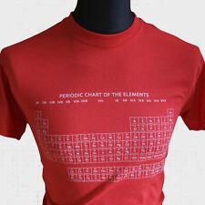 The périodique Table de éléments NEUF T SHIRT Leonard la théorie du Big Bang