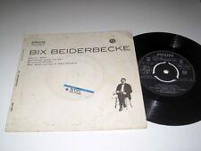 45rpm EP w/Jacket BIX BEIDERBECKE Bix Beiderbecke PHILIPS BBE.12053 UK Pressing