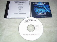 RARE PROMO The Faculty CD soundtrack SAMPLR Stabbing Westward Oasis ALICE COOPER