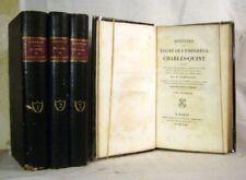 ROBERTSON Histoire du règne de l'empereur Charles-Quint 1822 4 VOLUMES