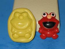 Sesame Street Baby Elmo Push Mold Food Safe Silicone A145 Cake Topper Resin Card