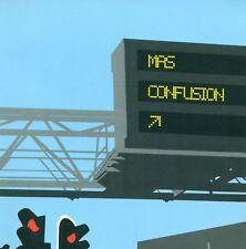 MAS CONFUSION PAR INTERFÉRENCES RADIO CD PROMO ALBUM (E1676)