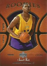 2005-06 UPPER DECK SWEETSHOT - ANDREW BYNUM - ROOKIE CARD #/1599