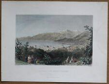 1837 Bartlett print BEIRUT, LEBANON (#2)