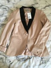 H&M Peach Blazer BNWT Size 6-8