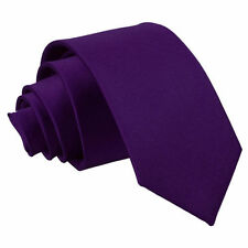 Accessoires cravate violette en polyester pour homme
