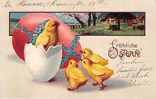 More details for bg20057 chick in egg flower ostern easter  germany
