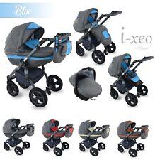 Baby Pram I-XEO Pushchair Buggy Stroller Car Seat, Modern Travel System 4 in 1