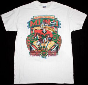 Miami Hurricanes Vintage Shirt, University of Miami Shirt White Reprint TK2754