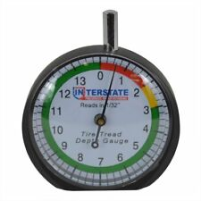 AGT TG32 Interstate Pneumatics Professional Dial Type Tire Tread Depth Gauge