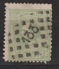 NVPH Netherlands Nederland 24 TOP CANCEL ZUTPHEN (133) Willem III 1872