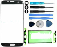 Front Outer Glass Screen Replacement Repair Kit Samsung Galaxy S7 Edge Black