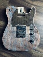 Pistols Crown Guitars Barncaster Telecaster Relic BODY ONLY Coper Patina Color