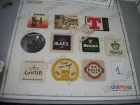 Lotto 10 untersetzer alles bier einige - bierdeckel - beer matten