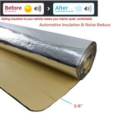 Car Sound Deadening & Heat Insulation Materials Thermal Proof Noise 50sqft 3/8