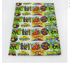 The Wiggles Fabric Poly Cotton 1m x 1.4m (width)