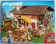 PLAYMOBIL 5422 Country urige Almhütte NEU + OVP Berg Hütte Haus Berge Wanderer