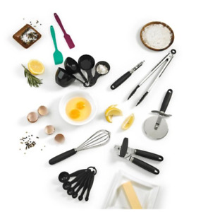 Cuisinart - 17pc Cooking and Baking Gadget Set - Stainless Steel
