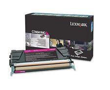 Lexmark Toner C746A1MG, C746A3MG, C746A6MG, magenta, C746 / C748