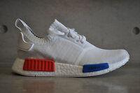 Adidas NMD Runner OG Primeknit PK - White/Red-Blue
