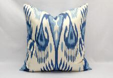 Blue cotton ikat pillow cover ikat pillowcase Blue pillow Uzbek ikat pillow ikat