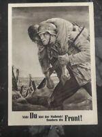 1943 Krakau Poland GG Postcard Cover German Soldier To Berlin Germany