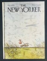 COVER ONLY ~ The New Yorker Magazine, October 4, 1976 ~ Ronald Searle