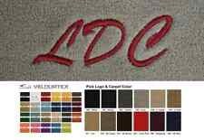 Lloyd Mats Custom Personalized Embroidery Velourtex Front Floor Mats (1941 & Up)