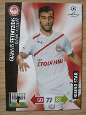 Champions League 2012/13 Rising Star card Giannis Fetfatzidis of Olympiakos