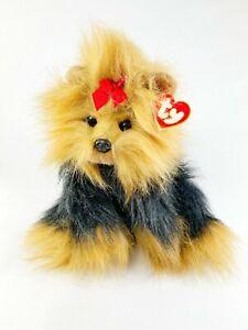 Ty Classic YAPPY Yorkie Yorkshire Terrier Dog Puppy Stuffed Animal