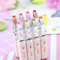 Korean Bite Fashion Lipstick V Cutting Two Tone Tint Silky Moisturzing Nourishin