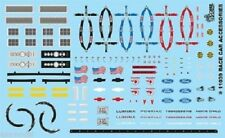 Gofer 11039 Race Car Accessories Decal Sheet 1/24 and 1/25
