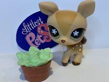 Authentic Littlest Pet Shop - Hasbro LPS - DEER #634 W/ Accessories