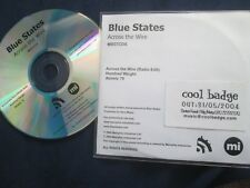 Blue States ‎– Across The Wire Label: Memphis Industries Promo UK CD Single