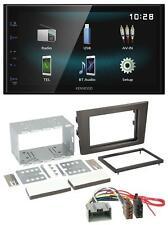 Kenwood AUX Bluetooth USB MP3 2DIN Autoradio für Volvo XC 90 02-14 14 Pin