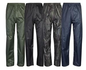 Mens Womens Waterproof Over Trousers   Fishing   Walking   Rain