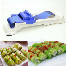 Kitchen Plastic Sushi Roller Machine Grape/Cabbage Leaf Rolling Tool Roll Maker