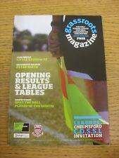 Revista de movilización de Oct-2009: edición 03-el único domingo Liga de fútbol Magazin