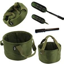 Padded Supreme Fishing Bait Mixing Bowl Carp Tackle 019 Throwing Spoon + Handle
