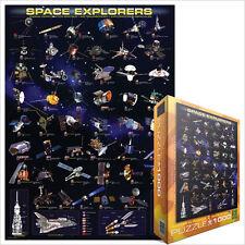 JIGSAW  EG60002001  Eurographics Puzzle 1000 Pc - Space Explorers