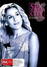 SEX AND THE CITY - SEASON 2 (Sarah Jessica Parker, Kim Cattrall)   NEW 2 DVDs