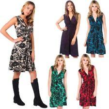 Retro Sleeveless Wrap Dresses