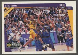 1997-98 Upper Deck #64 Kobe Bryant 2nd year card Lakers RARE