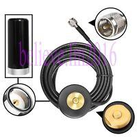 UHF R1 Antenna NMO Magnetic Base For Motorola MAXTRAC 300 M120 M130Mobile Radio
