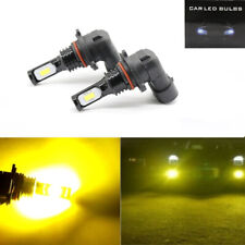2x 9006 HB4 3000K Yellow 100W High Power 3030 LED Fog Lights Driving Bulb DRL
