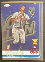 Ronald Acuna Jr. 2019 Topps Chrome Update #81 Rookie Cup Atlanta Braves Invest⭐️