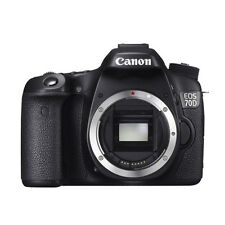 Canon EOS 70D Digital SLR Camera 20.2 MP Body Only NEW